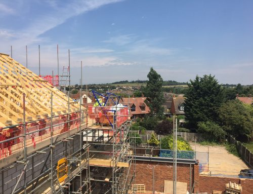 Views from new roof in South Woodham Ferrers